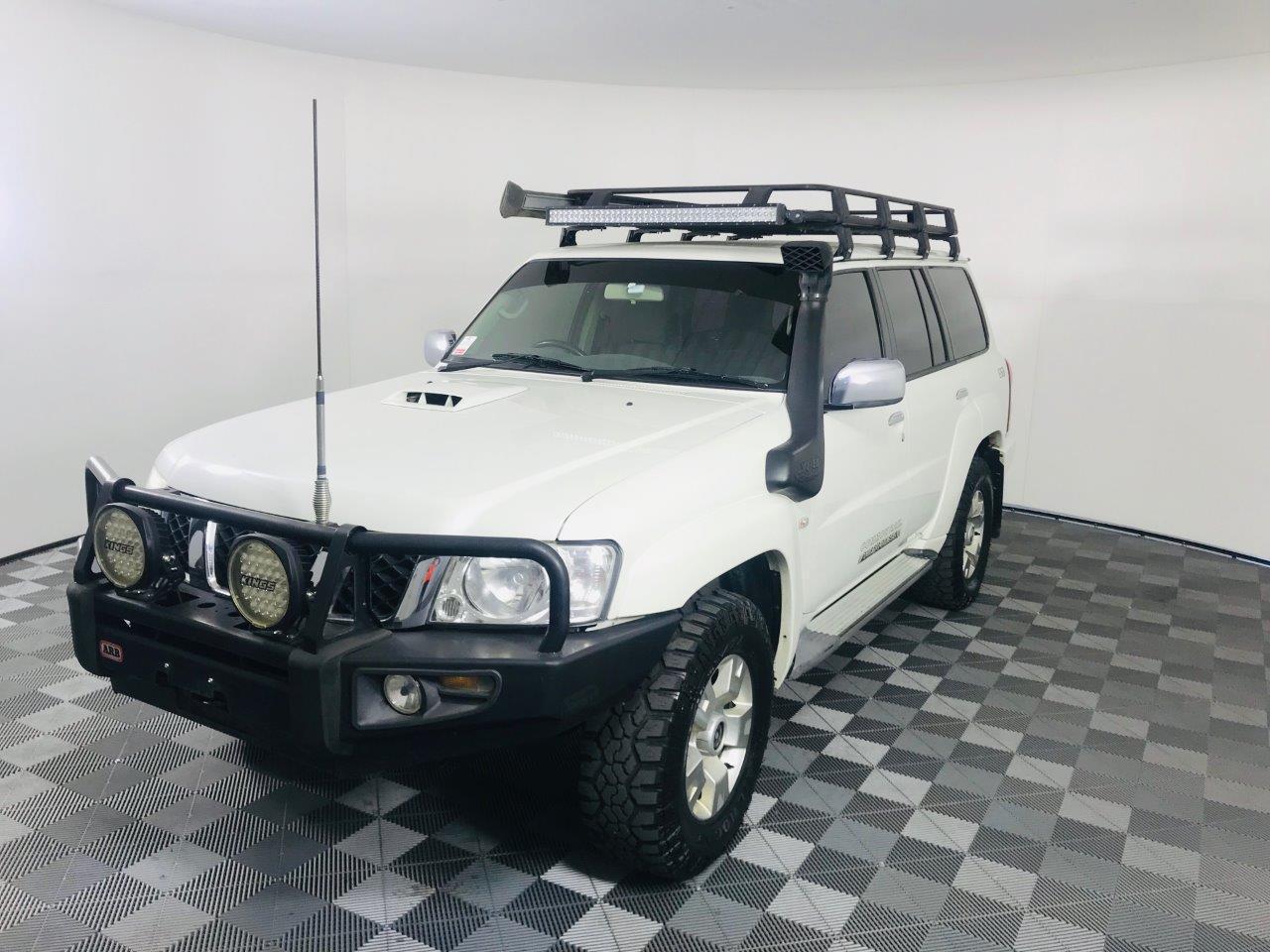 2012 Nissan Patrol ST Turbo Diesel Auto 7 Seats Wagon
