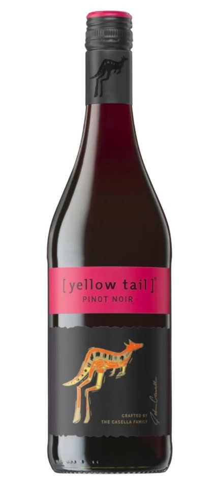 Yellow Tail Pinot Noir NV (12x 750mL) SEA