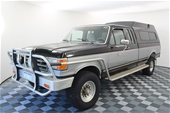 Unreserved 1987 Ford F250 XLT Lariat Super Cab 4WD Auto Ute