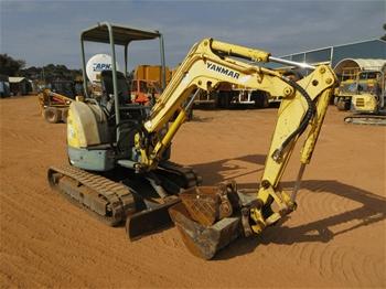 2002 Yanmar V1027 Mini Excavator