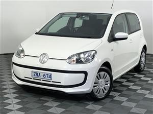 2013 Volkswagen up! AA Manual Hatchback