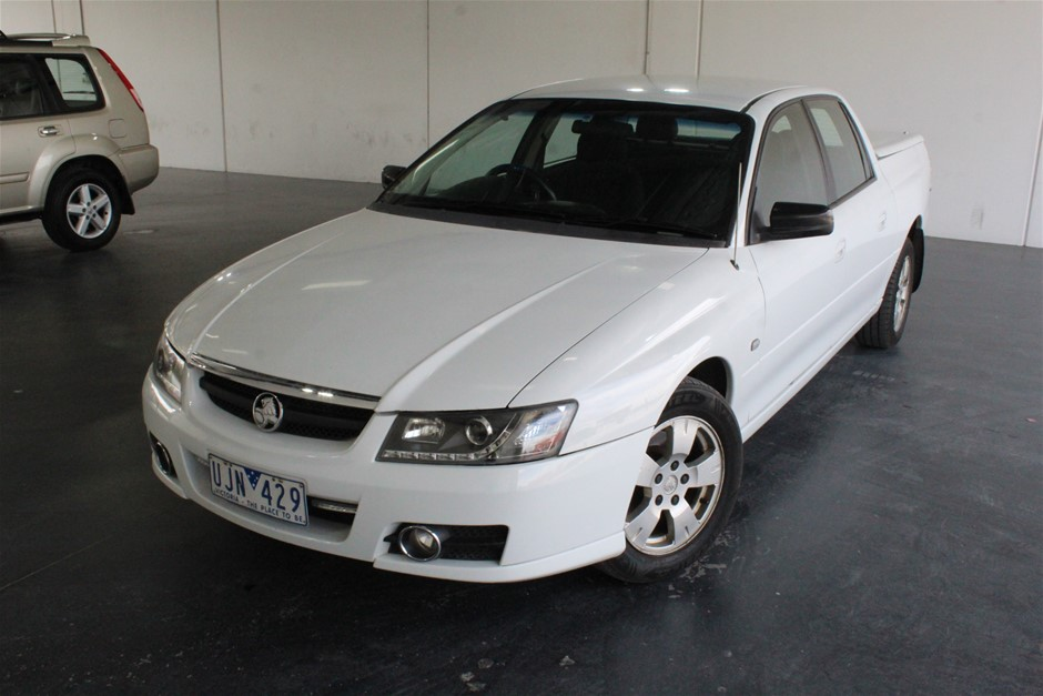 2006 Holden Crewman Automatic Ute
