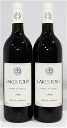 Lakes Folly Cabernets 1998 (2x 750ml)