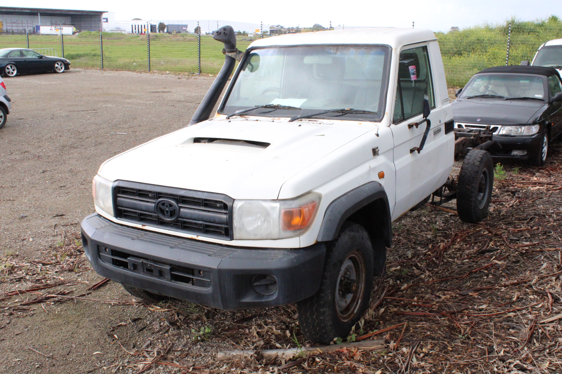 2011 Toyota Landcruiser Workmate (4x4) VDJ79R T/Diesel Manual Cab Chassis