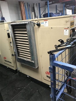 Screw Electric Air Compressor - IR Ingersoll Rand