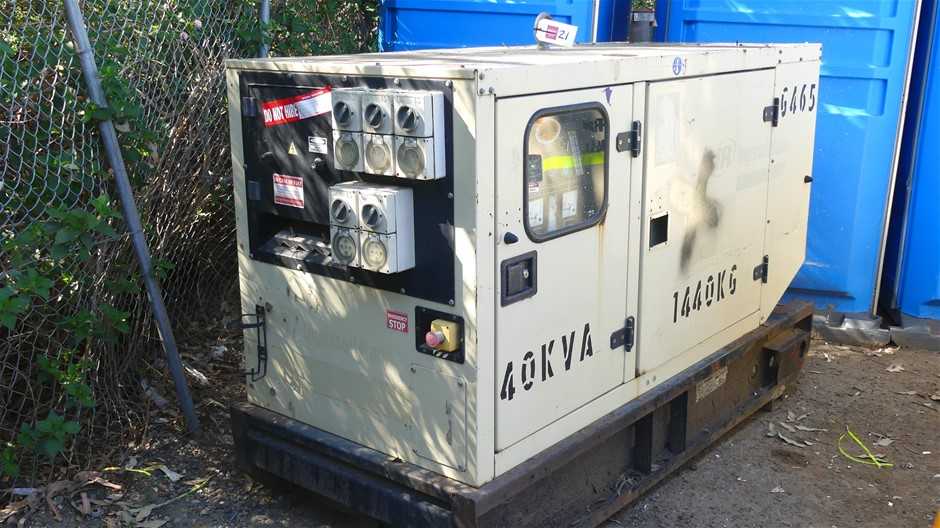 Ingersoll-Rand G44 Packaged Generator