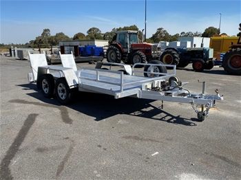 Custom Made Tandem Axle Plant Trailer