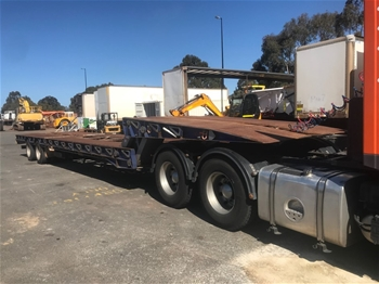 2008 Mars ST2 2x4 Hydraulic Folding Goose Neck Low Loader