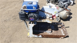 Brick Saw with coolant trough