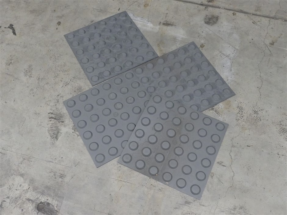 Qty 15 x PRF T200 Tactile-Ground Surface Indicator Tiles
