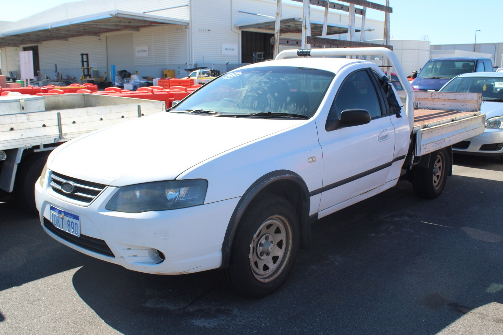 2006 Ford Falcon RTV BF MKII Automatic Cab Chassis