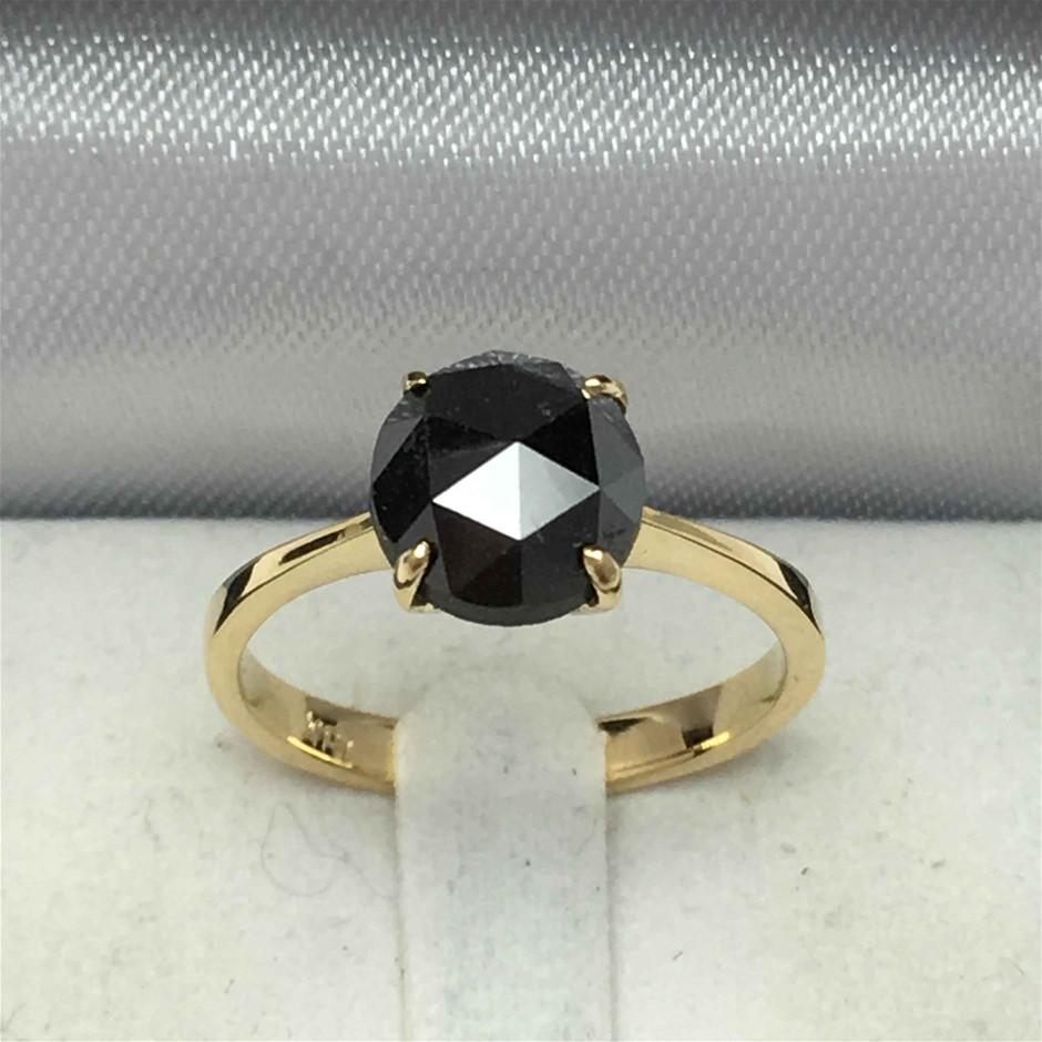 18ct yellow Gold, 2.27ct Diamond Ring
