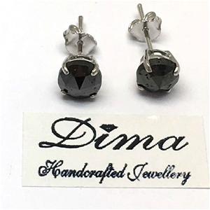 18ct White Gold, 4.00ct Diamond Earring