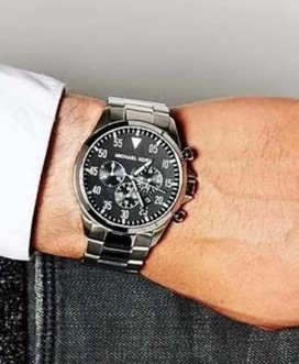 Mens Michael Kors Couture NY 'Gage' chrono. handsome watch