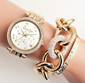 Beautiful feminine ladies new watch from Michael Kors Couture NY.