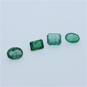 Four Loose Emerald 8.50ct in Total
