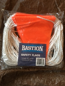 Bastion Building Materials Safety Flags