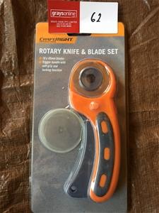 Rotary Knife and Blade Set
