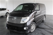 Unreserved 2007 Nissan Elgrand Automatic People Mover