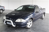 Unreserved 2001 Ford Falcon XLS AUII Automatic Ute