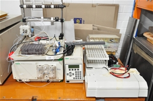 Chromatography system with assorted acce