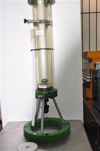 Low pressure column with adjustable volu
