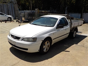2004 Ford UTE 45313 RWD Automatic Ute -