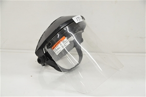 Face shield for UV light radiation (2664