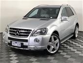 Unreserved 2011 Mercedes Benz ML 350 (4x4) W164 Auto Wagon