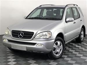 2002 Mercedes Benz ML 320 (4x4) W163 Aut
