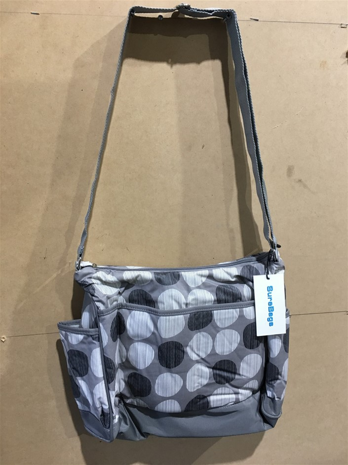 1 x Water Proof Nappy / Diaper Bag - Medium Size