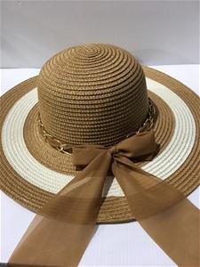 Ladies Fashion Sun Straw Hat