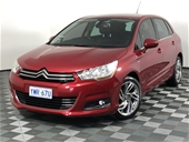 Unreserved 2012 Citroen C4 Exclusive Automatic