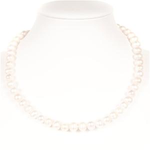 Set Of Freshwater Pearl Necklace, Bracel