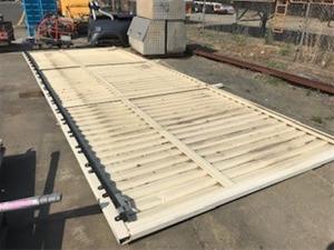Steel Panel Gate