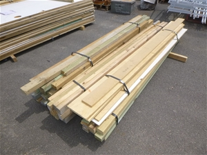 Qty 3 x Bundles of Treated Pine Wood