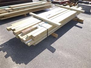 Qty 2 x Bundles of Treated Pine Wood