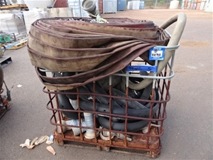Metal Stillage with Contents