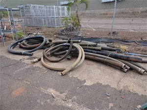 A Large Quantity of Industrial Hoses