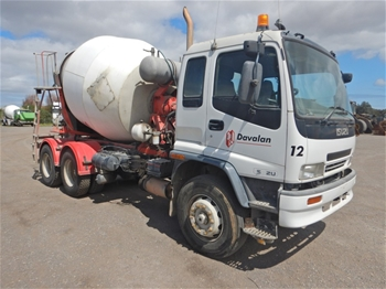 Unreserved 2005 Isuzu FVZ 1400 Med 6x4 Concrete Agitator