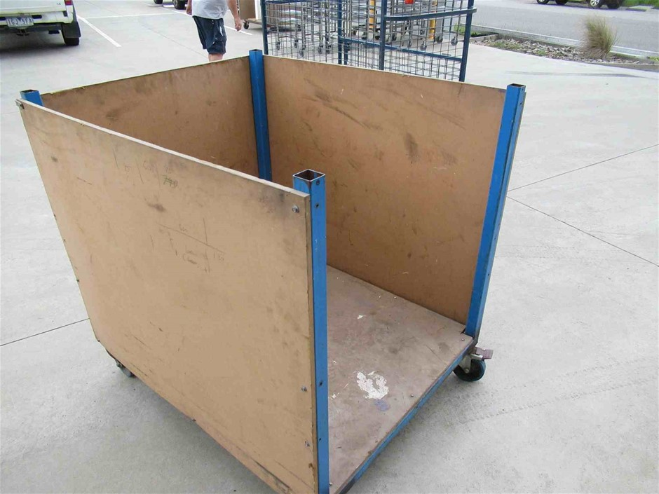 Steel Fabricated 4 Wheel Stillage Metal Frame