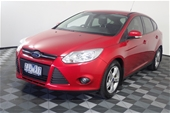 Unreserved 2012 Ford Focus Trend LW II T/D Auto Hatchback