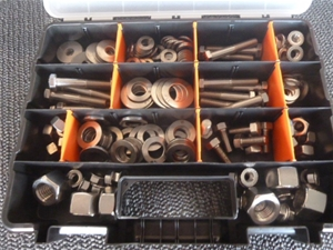 Grab Kit 316 Stainless Steel Nuts, Bolts