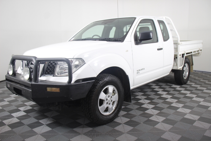 2011 Nissan Navara RX (4x4) D40 Turbo Diesel Manual Ute
