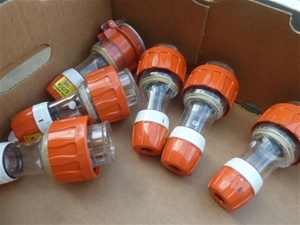 Qty 6x Clipsal 56P520 Industrial Plugs (