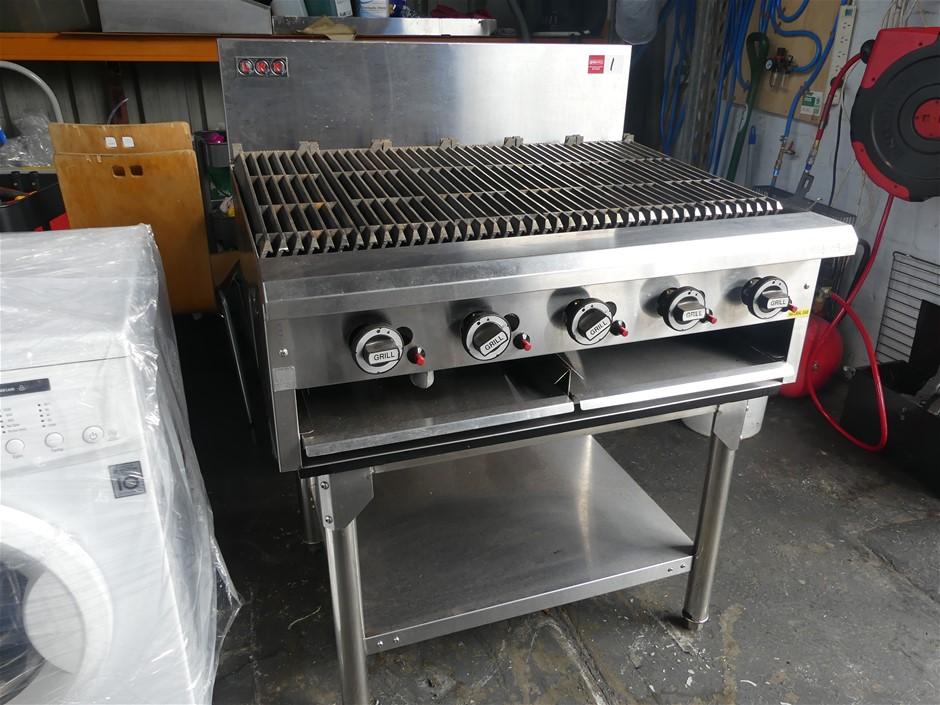 LKK LKKCG9 Free Standing 5 Burner Grill