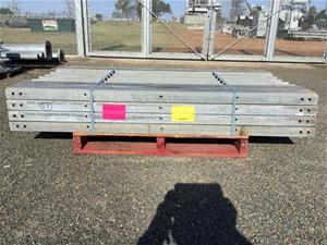 67 x steel posts 125x2000mm Vendor code: