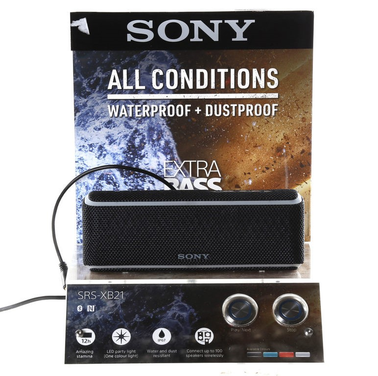 SONY SRS-XB21 Wireless Speaker EXTRA BASS. Buyers Note - Discount Freight R