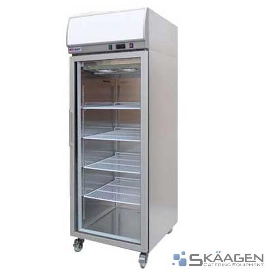 Unused 400L YCF01-LB Single Glass Door Display Freezer