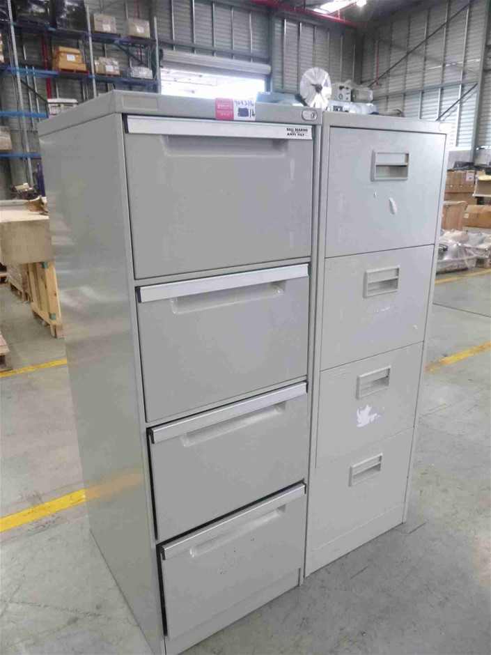 2x Assorted Filing Cabinets